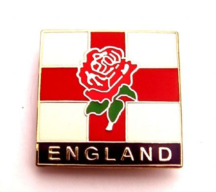 England Badge - Rose of England and St George Cross